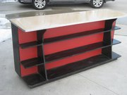 FREE for the taking _ 1 Old Store Counter & 1 Wooden Shelf Unit